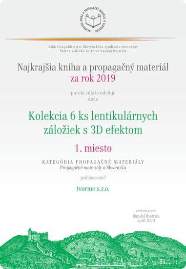 tvorme 3D záložka Bratislava