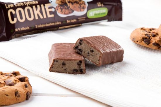KetoLife Low Carb tyčinka - Cookie 55 g