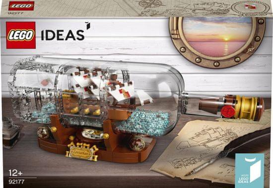 LEGO Ideas 92177 Ladja v steklenici