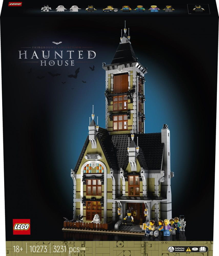 LEGO Creator Expert 10273 Strašidelný dům na pouti - rozbaleno