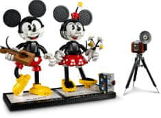 LEGO Disney Princess 43179 Myszka Miki i Myszka Minnie do zbudowania