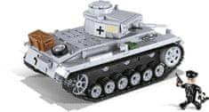 Cobi tank Panzer III AUSF. E kocke za sestavljanje, 475 kosov