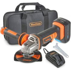 VonHaus akumulatorski kotni brusilnik 3500006