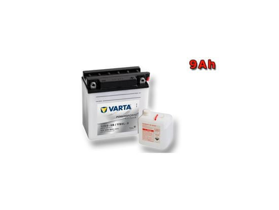 VARTA Motobatéria YB9L-B, 9Ah, 12V