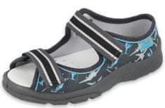 Befado chlapecké sandály Max 869X143 25 tmavě modrá