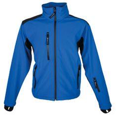Schwarzwolf BREVA bunda pánská modrá logo vzadu