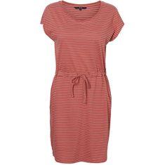 Vero Moda Dámské šaty VMAPRIL 10213298 Stripes Marsala (Velikost S)
