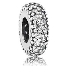 Pandora Ločena kroglica s kristali 791359CZ srebro 925/1000