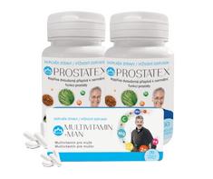 Novax  Balíček pro muže (2x PROSTATEX 2x 60 tobolek + blister MULTIVITAMIN - MAN 20 tobolek)