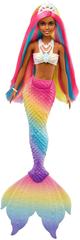 Mattel Barbie Mavrična morska deklica Mulatka