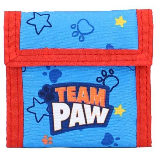 "Vadobag Portfel tekstylny ""Psi Patrol - Teamwork"" - niebieski"