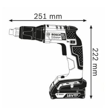 BOSCH Professional akumulatorski vijačnik GSR 18 V-EC TE L-Boxx (06019C8002)