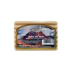 Knossos Řecké olivové mýdlo s vulkanickým lávovým pískem 100g
