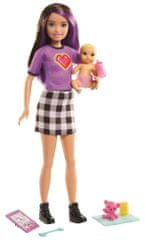 Mattel Barbie varuška Skipper z dojenčkom