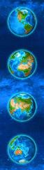 mapcards.net 3D záložka Continents