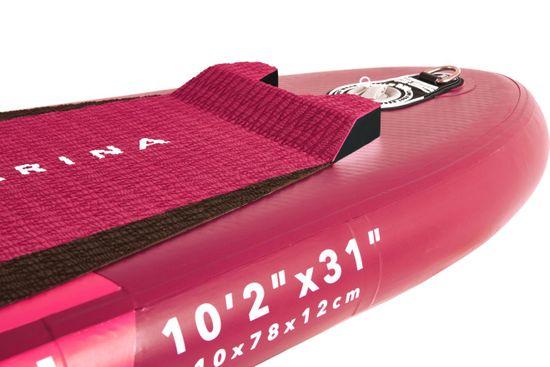 Aqua Marina BT-21COP Coral napihlijv SUP, z veslom in varnostno vrvico, 3,1 m, 12 cm