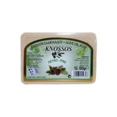 Knossos Řecké olivové mýdlo s vůní borovice 100g