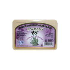 Knossos Řecké olivové mýdlo s vůní levandule 100g