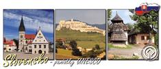 tvorme Magnetka Slovensko - pamiatky UNESCO, MSR003