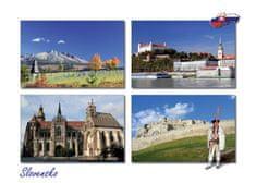 tvorme pohľadnica Slovensko III