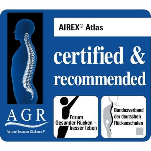 AIREX® Blazina Gym Mat profesionalna ATLAS zelena 200 x 120 x 1,5 cm