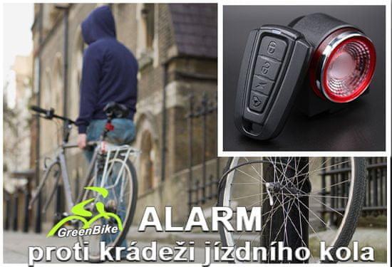GreenBike Inteligentní cyklistický alarm