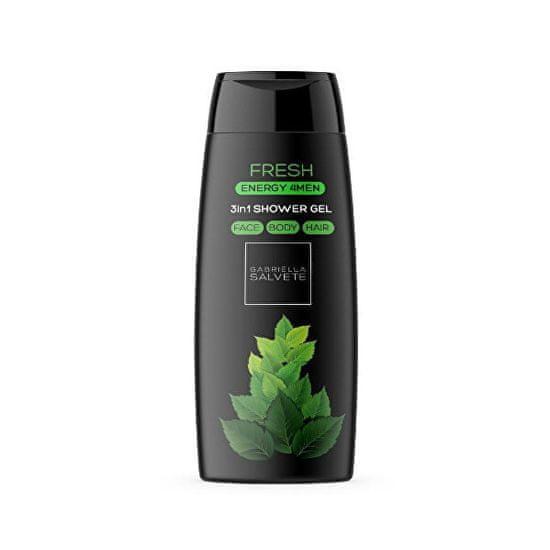 Gabriella Salvete Sprchový gel pro muže 3 v 1 Fresh Energy 4Men (3in1 Shower Gel) 250 ml