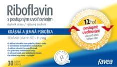 Favea Riboflavin tbl.30 s post.uvolňov.