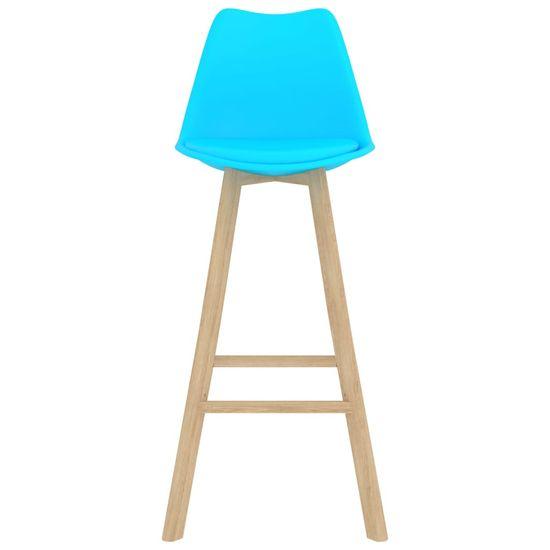 shumee 3-delni set pohištva za palčke modre barve