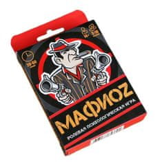 "hElium Karetní hra ""mafioz"" 18 hracích karet + 5 karet s pravidly"