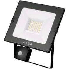 Avide SMD LED reflektor 30W slim 30W nevtralno bel 4000K s senzorjem