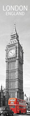 mapcards.net 3D záložka London in red