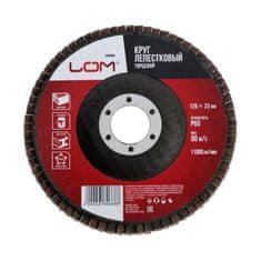 Kraftika Brusný kotouč lom, lamelový disk, 125 x 22 mm, p60