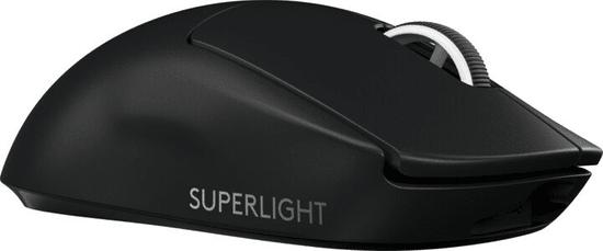 Logitech G Pro X Superlight brezžična gaming miška, črna