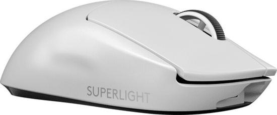 Logitech G Pro X Superlight bežični gaming miš, bijeli