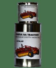 BARVY NA TRAKTORY VADERSTAD originální 2-K PUR barva ČERVENÁ, SET s tužidlem lesklé , 6,25kg SET