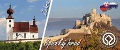 tvorme Magnetka Spišský hrad, Žehra (UNESCO), MSN003