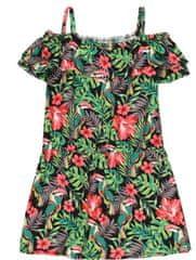 Boboli dekliška obleka 412029, 110, večbarvna