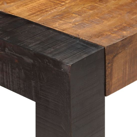 shumee Stół jadalniany, 160 x 80 x 76 cm, lite drewno mango