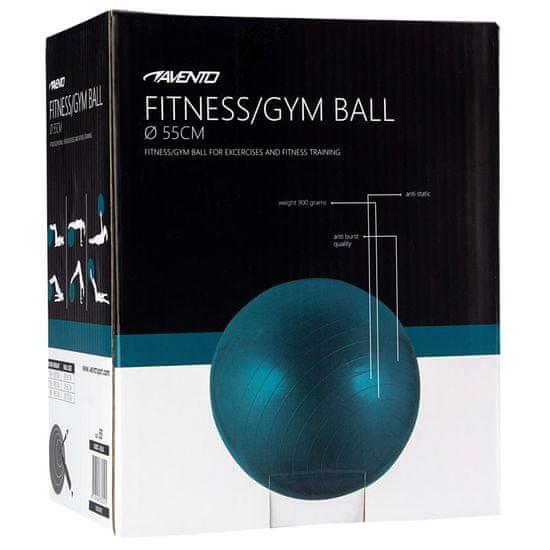 shumee Avento Fitnes žoga / gimnastična žoga premer 55 cm modra