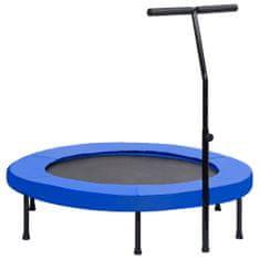 shumee Fitness trampolína s rukoväťou a bezpečnostnou podložkou 122 cm