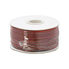 Delight Kabel za zvočnike ali LED razsvetljavo 2 x 0,75 mm and - 100 m / zvitek