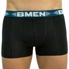 Bellinda Pánske boxerky čierno/zelené (BU858208-094) - veľkosť XL