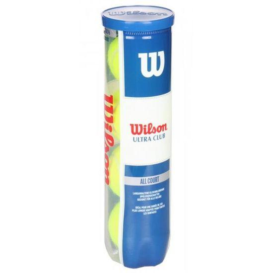Wilson Ultra Club žogice za tenis, 4 kosi