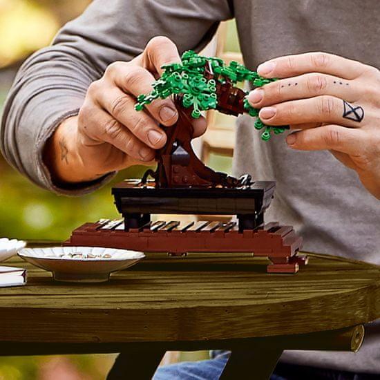 LEGO kreativni komplet Creator Expert 10281 Bonsaj