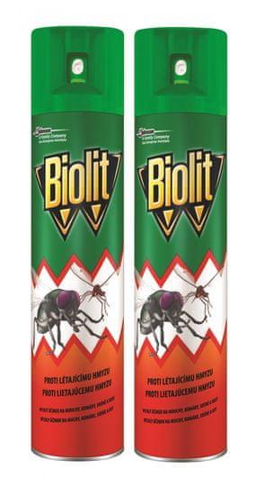 Biolit L proti létajícímu hmyzu 2x400 ml