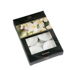 """Kraftika Sada čajových svíček s vůní """"jasmine"""" v dárkové krabičce"""