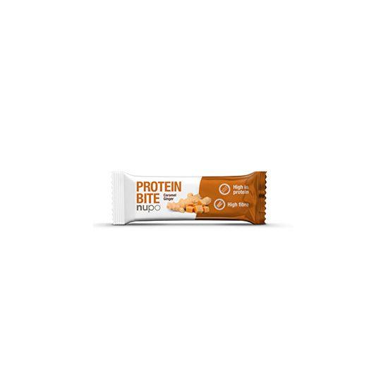 Nupo Proteín Bite tyčinka Zázvor - karamel 42 g