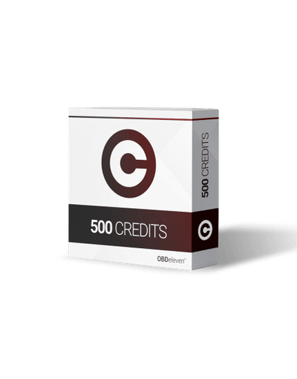 OBDeleven 500 KREDITŮ OBDeleven