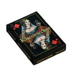 hElium Hrací karty 36ks. golden russia 63x88 mm, 230 g / m2